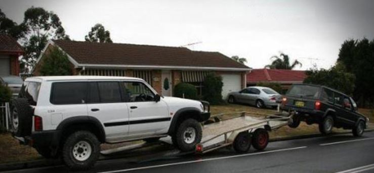 Towing go wrong